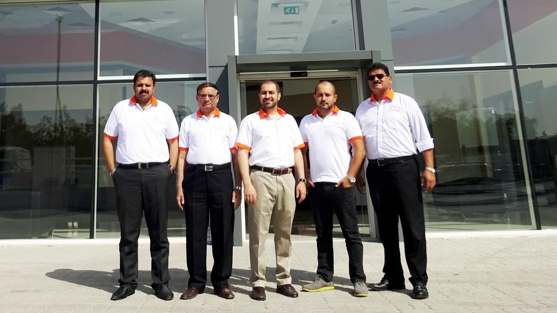 orange auto management team