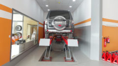 mitsubishi pajero wheel alignment dubai