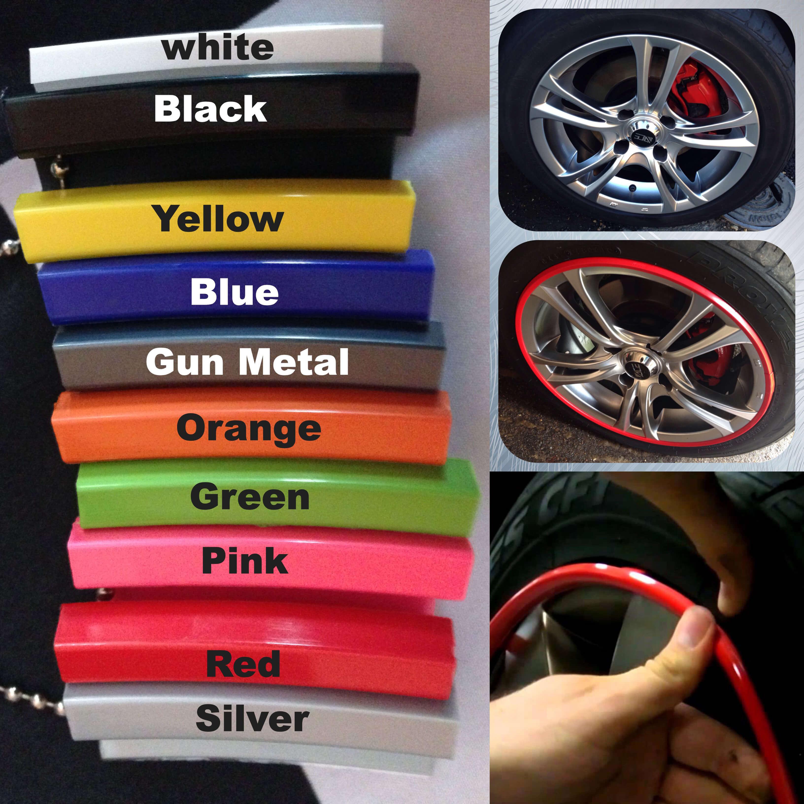 Alloy Gator Wheel Protector Orange Auto Dubai