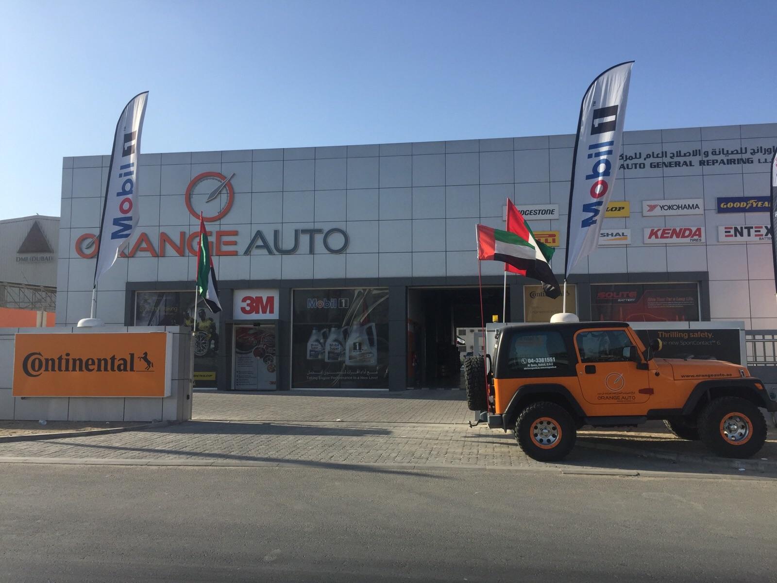 Orange Auto Front