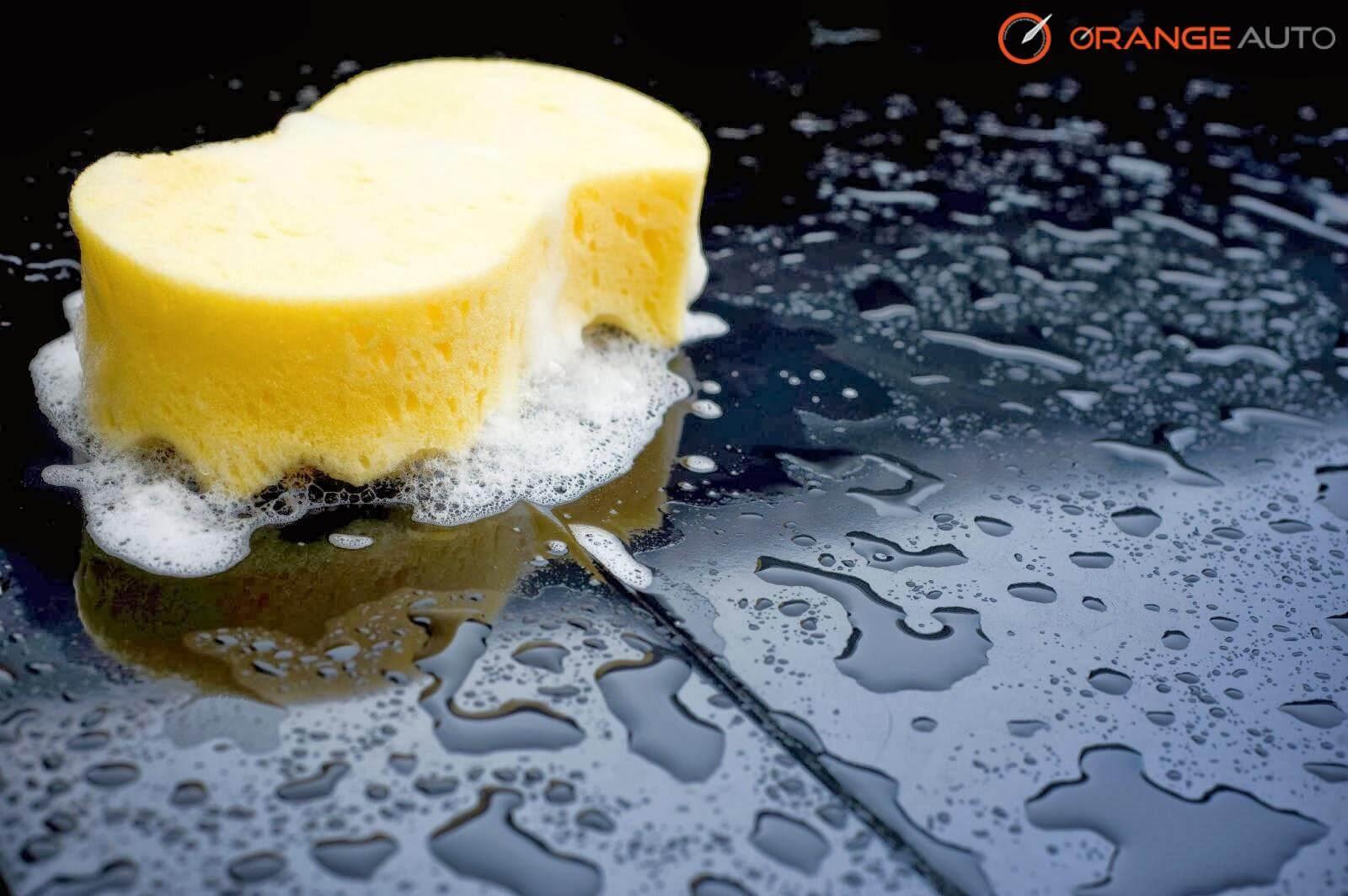 Car wash at orange auto dubai