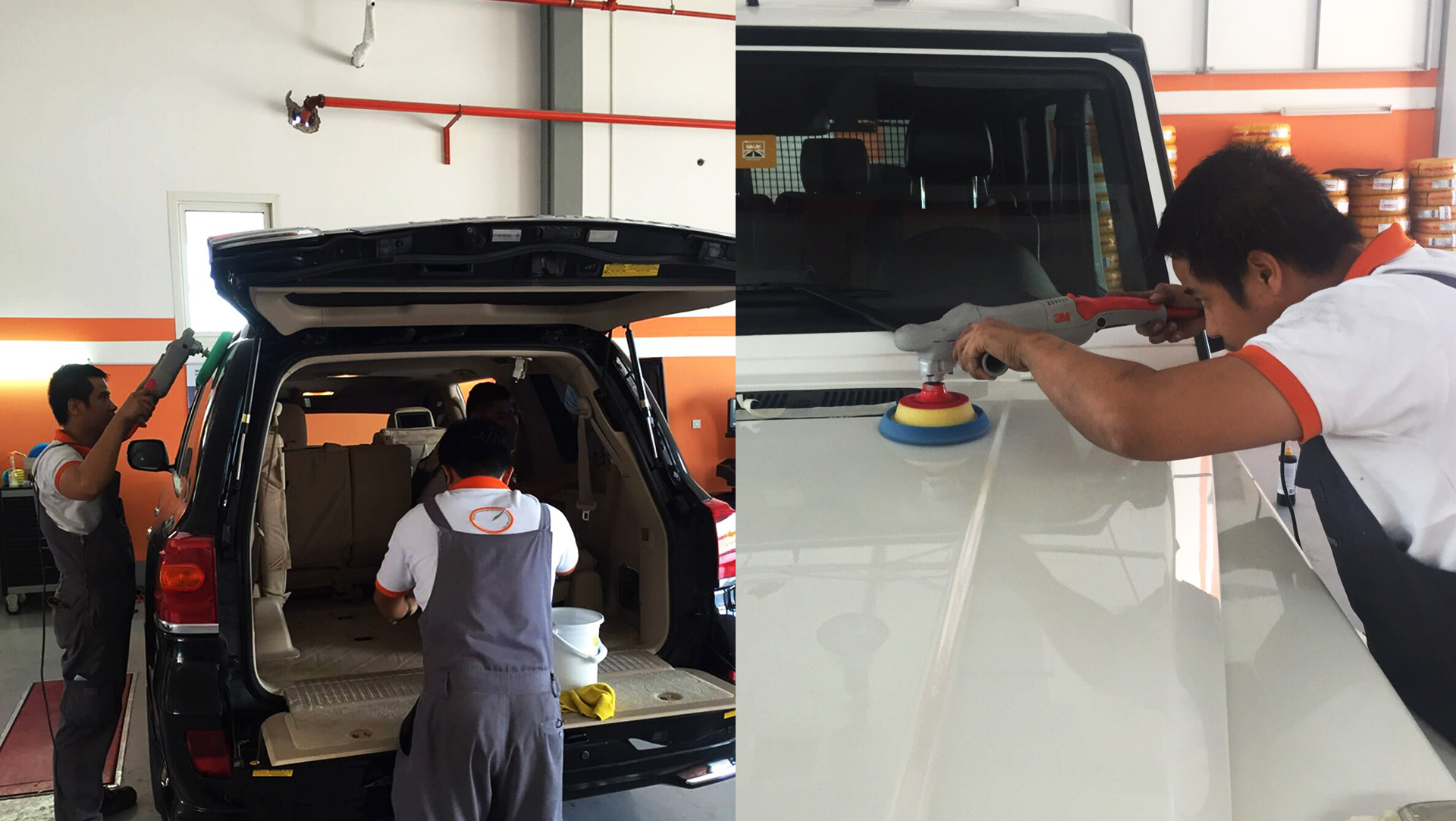 3m Car Detailing at Orange Auto Dubai