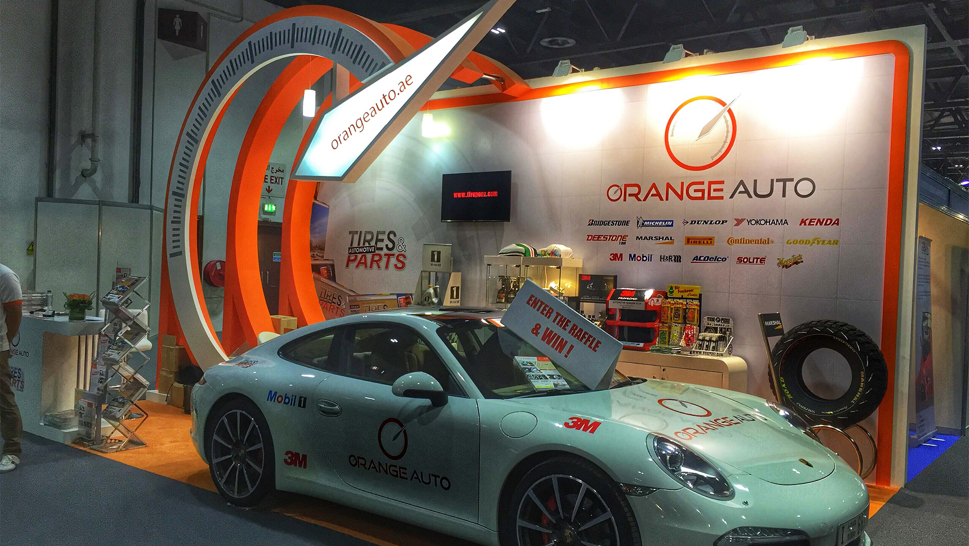 orange auto at dubai International motorshow 2015