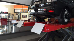 wheel alignment at orange auto dubai
