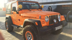 Jeep - Orange Auto Dubai