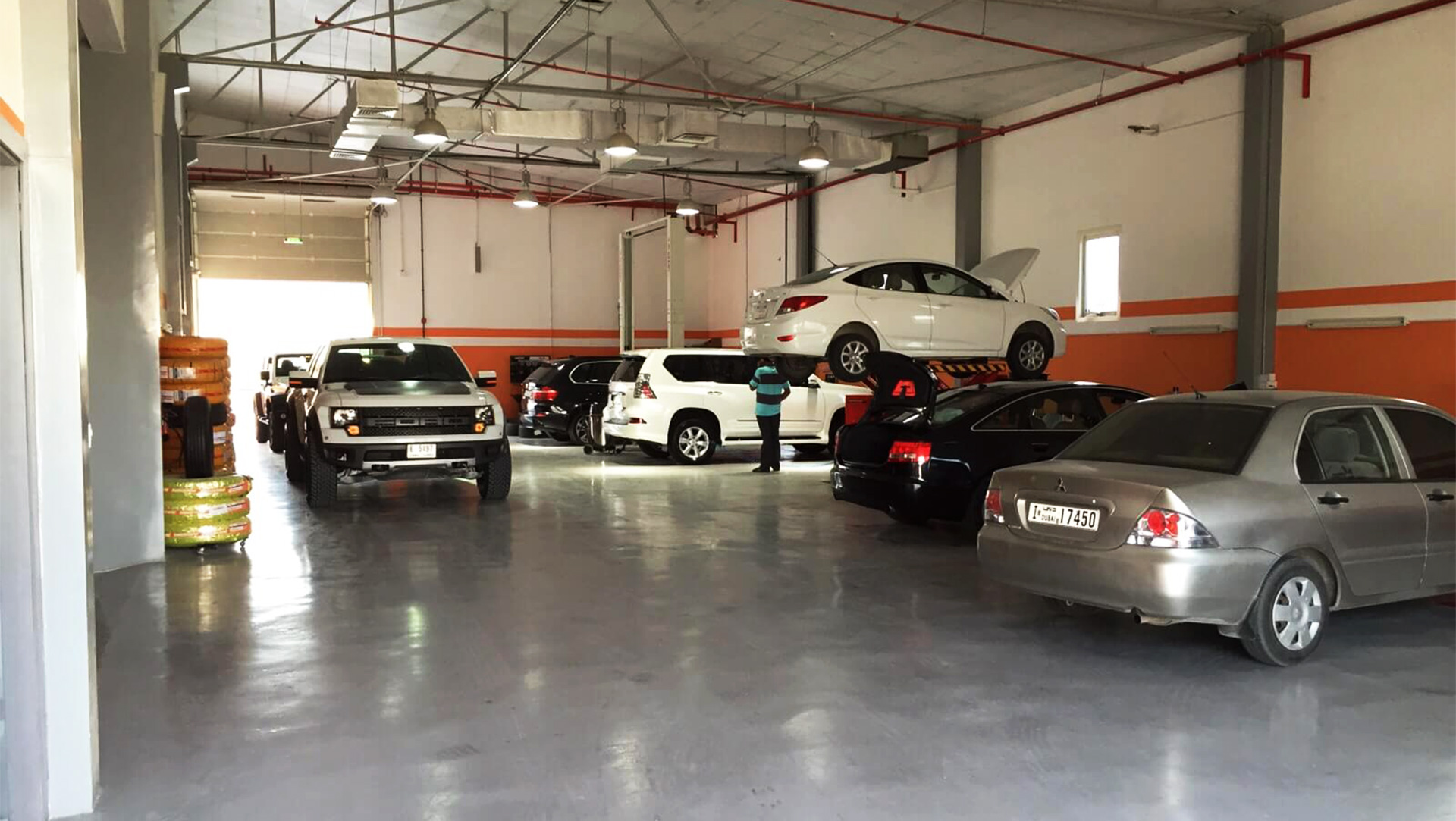 Workshop - Orange Auto Dubai