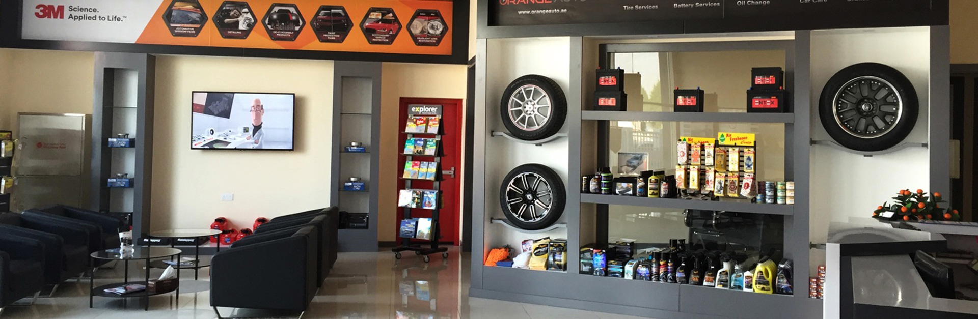 A Leading Auto Repair And Car Care Workshop In Dubai