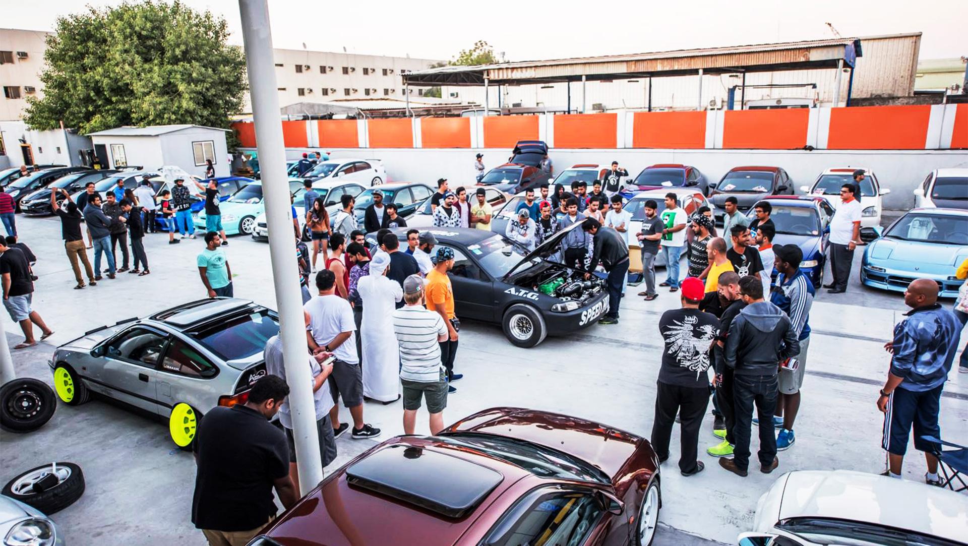 Honda Club Event