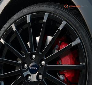 black alloy wheel paint