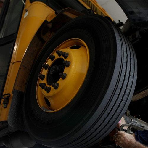 Truck Tire Change