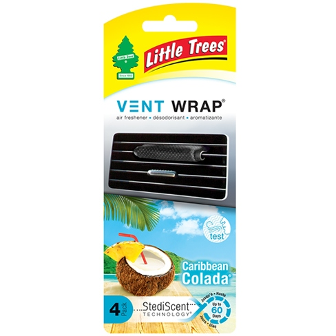 Online Little Trees Visitor Wrap Caribbean Colada