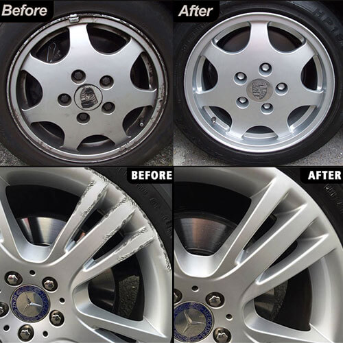 Wheel Dent Repair and Refurbishment